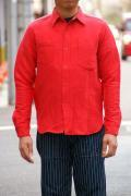 """JELADO (ジェラード) ワークシャツ AG13105 """"Maryland Shirts"""" オールドレッド"""