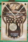 """DELUXEWARE (デラックスウエア) ネックレス DLF-002NC """"HANDMADE NECKLESS"""" シルバー"""