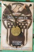 """DELUXEWARE (デラックスウエア) ネックレス DLF-002NC """"HANDMADE NECKLESS"""" オールドブラス"""