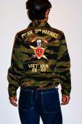 BUZZ RICKSON'S (バズリクソンズ)/ベトナムジャケット/BR12239/タイガーカモ
