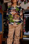 SUN SURF (サンサーフ)/長袖ハワイアンシャツ/BIG EAGLE/ネイビー