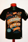 Moonjive Design (ムーンジャイヴ デザイン)/Tシャツ/BS-503K/ブラック
