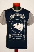 JELADO (ジェラード)/Tシャツ/5MT-2082/グレープ×ソルト&ペッパー
