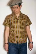 """JELADO (ジェラード) イタリアンカラーシャツ SG22107 """"Vincent Shirts"""" マスタード"""