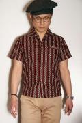 """JELADO (ジェラード) イタリアンカラーシャツ SG22107 """"Vincent Shirts"""" ワイン"""