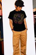 MWS (エムダブルエス)/Tシャツ/67'S RUMBLER'S M.C.CUSTOM/ブラック