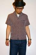 JELADO (ジェラード)/イタリアンカラー・ボックスシャツ/JSGSH-5003/ブラック