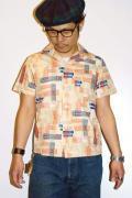 JELADO (ジェラード) 半袖オープンカラーシャツ JSGSH-5009 バニラ