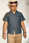 """JELADO (ジェラード) イタリアンカラーシャツ SG12102 """"Vincent Shirts"""" インディゴ"""