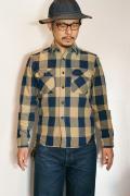 JELADO (ジェラード) ヘヴィーネルシャツ (ショート丈) JP94105 ナッツ
