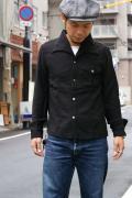 DALEE'S (ダリーズ)/40s Drape shirt/ドレープ/ブラック