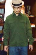 SUGAR CANE (シュガーケーン) コットンウール・フランネルシャツ SC26659 グリーン