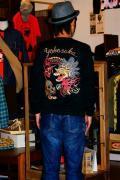 TAILOR TOYO (テーラー東洋)/長袖スカTシャツ/DRAGON/ブラック