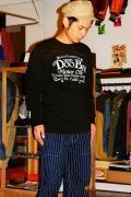 BLUE BUCK (ブルーバック)/長袖Tシャツ/Doo Bie/ブラック