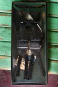 Dapper's (ダッパーズ) Hバックスタイル・クラシカルサスペンダー 985A ブラック/ブラック