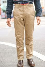 "WORKERS (ワーカーズ) チノパン ""Workers Officer Trousers, Slim, Class1"" 10ozベージュチノ"