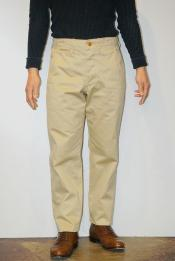 "WORKERS (ワーカーズ) チノパン ""Workers Officer Trousers, Slim, Type1"" ライトベージュ"