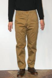 "WORKERS (ワーカーズ) チノパン ""Workers Officer Trousers, Slim, Type1"" USMCカーキ"