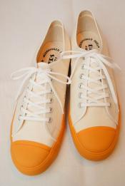"Dapper's (ダッパーズ) キャンバススニーカー 1403 ""Dappers Brand Canvas Sneakers Type Low Cut"" オフホワイト"