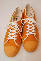 "Dapper's (ダッパーズ) キャンバススニーカー 1403 ""Dappers Brand Canvas Sneakers Type Low Cut"" オレンジ"