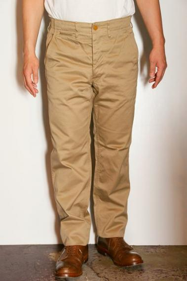 "WORKERS (ワーカーズ) チノパン ""Workers Officer Trousers, Slim, Type2"" ベージュチノ"