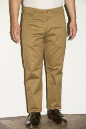 "WORKERS (ワーカーズ) チノパン ""Workers Officer Trousers, Slim, Type2"" USMCカーキ"