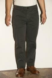 "WORKERS (ワーカーズ) チノパン ""Workers Officer Trousers, Slim, Type2"" コットンサージ・グレー"