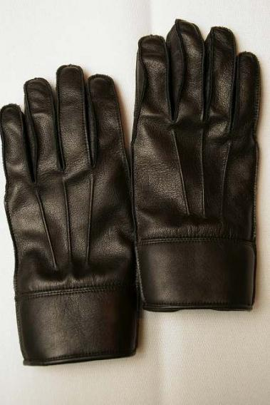 "Dapper's (ダッパーズ) レザーグローブ 1219 ""Classical Horsehide Leather Glove"" ブラック"